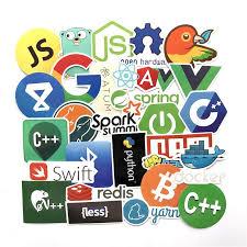 50pcs High Quality Graffiti Java Js Bitcoin Sticker Decals For Skateboard Laptop Archives Statelegals Staradvertiser Com