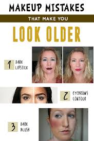 makeup mistakes that make you look