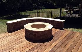gas or wood burning outdoor fireplace
