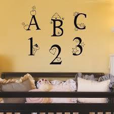 Firesidehome Abc 123 Nursery Wall Decal Wayfair
