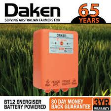 12km 12v Volt Battery Powered Electric Fence Energiser Energizer Bt12 Farm Pet Ebay