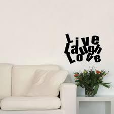 Inspirinng Quotes Live Laugh Love Art Wall Decal Vinyl Wall Sticker Decor Home Decoration Wall Sticker Decor Sticker Decorationvinyl Wall Stickers Aliexpress