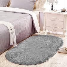 Junovo Oval Fluffy Soft Area Rugs For Kids Room Children Room Girls Room Nursery 2 6 X