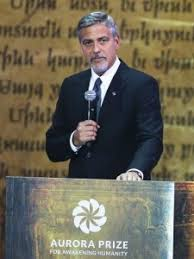 George Clooney in Armenia to Join in Commemoration of Armenian Genocide and  to hand $1.1Million to AURORA Prize Winner | Armenian Community Council of  the United Kingdom