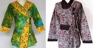 Bawahan batik yang keren itu, dipadu atasan hijab dengan warna yang soft, membuat penampilanmu enak dilihat. Ide 39 Model Baju Batik Atasan Modern Orang Gemuk