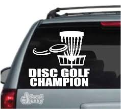 Disc Golf Car Decals Stickers Decal Junky