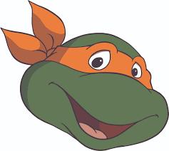 Ninja Turtles Cartoon Show Movie Michaelangelo Character Orange Wall Decal Decals Stickers Sticker For Kids Bedroom Rooms Walls 90s Cartoons Designs For Kids Children S Rooms Size 12x20 Inch Walmart Com