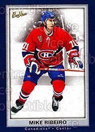Amazon.com: (CI) Mike Ribeiro Hockey Card 2005-06 Beehive (base ...