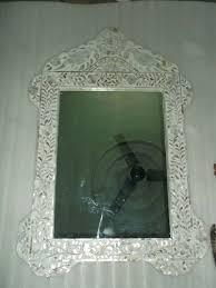 pearl inlay bird design mirror