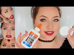 ling face latex skin show your