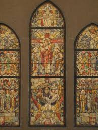 design drawing for stained glass window