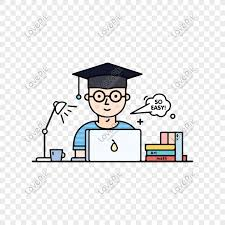 Cartoon Illustration Style Work Student Writing Papers Free Down Png Image Picture Free Download 610497380 Lovepik Com