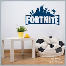 Free Uk Delivery Wall Stickers Decals Fortnite Gamer Inspired Wall Walls Of Wisdom