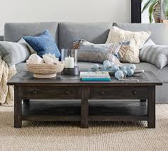 benchwright rectangular coffee table