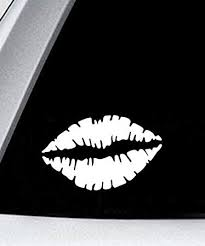 Amazon Com Ak Wall Art Lips Vinyl Decal Car Truck Laptop Select Size Automotive