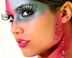 beautiful makeup models female