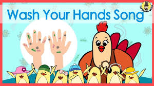 Wash Your Hands Song | Music for Kids | The Singing Walrus | Hand washing song, Preschool songs, Kindergarten songs