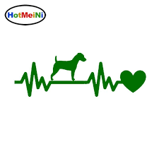 2020 Wholesale Hotmeini Jack Russell Dog Car Stickers Reflective Vinyl Decal Car Styling Motorcycle Accessories Black Silver From Bulangying 16 59 Dhgate Com