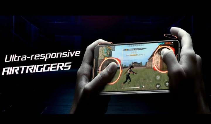 Image result for Air Triggers 2 of rog phone