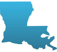 Louisiana Custom State Decals