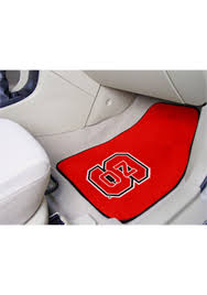 Sports Licensing Solutions Nc State Wolfpack 2 Piece Carpet Car Mat Red 1650300