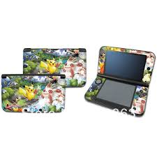 New Pokemon Pikachu Vinyl Decal Skin Sticker Case Cover For Nintendo 3ds Xl Ll 07 Free Shipping Stickers Classic Sticker Toydecal Sheet Aliexpress