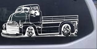 Classic Muscle Truck Shop Garage Decal Car Or Truck Window Decal Sticker Rad Dezigns