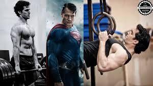 henry cavill body for superman