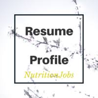 4088 profiles found nutritionjobs