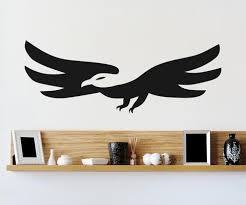 Vinyl Wall Decal Sticker Abstract Eagle Os Aa1291 Stickerbrand