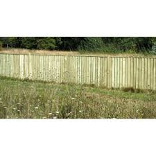 6ft X 4ft Premium Feather Edge Fence Panel Fully Framed Worcester Timber Products