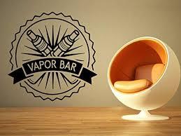 Amazon Com Wall Vinyl Sticker Decal Vaporizer Vape Pen Store Shop Smoke E Cigarettes Liquid Coil Indoor Outdoor Sign Logo Sa730 Home Kitchen