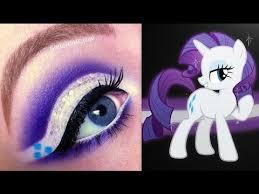 my little pony s rarity makeup tutorial