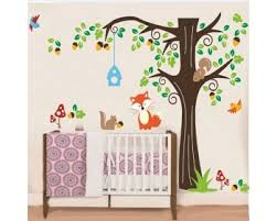 Animal Wall Decals Animal Decals Kids Decals Lovely Nursery Stickers