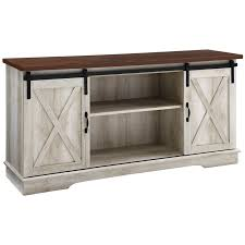 58 inch sliding barn door tv stand