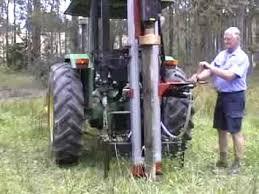 Hydraulic Post Driver From Elgra Australia Youtube