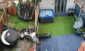 Diy Wiz Reveals How She S Transformed Her Garden Into A Self Care Heaven Daily Mail Online