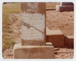 Grave Marker of Winnie Davis Howell] - The Portal to Texas History
