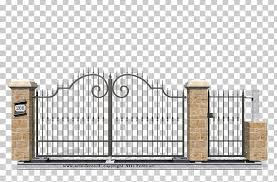 Gate Wrought Iron Fence Window Png Clipart 208 Architecture Decoratie Door Fence Free Png Download
