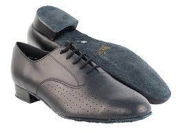 919101 black perforated leather very
