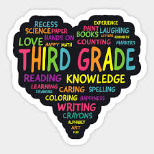 Image result for third grade colorful clip art