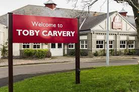 Toby Carvery roast dinners ...