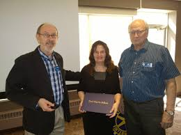 Club Awards Honorary Paul Harris Fellowship to Helen Smith-McIntyre |  Rotary Club of Saskatoon Nutana