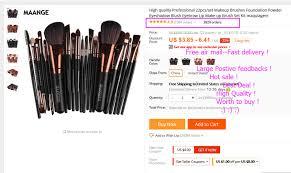 pro makeup brushes powder foundation