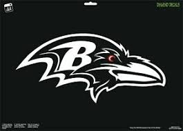 Baltimore Ravens Logo Football Custom Vinyl Car Decal Window Color Cornhole Ebay