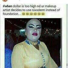 funny es about too much makeup