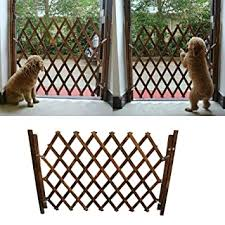 Amazon Com M Kvfa Small Pet Wooden Fence Isolation Door Gate Guard Telescopic Safety Rail Barrier Expanding Fence Pet Gate Pet Fence Scalable Switchable Pet Guardrail Safety Protection Divider Gate Baby