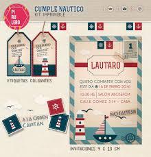Kit Imprimible Nautico Vintage Marinero Diseno Pirulero 400 00