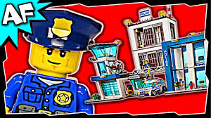Lego City POLICE STATION 60047 Stop Motion Build Review - YouTube