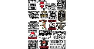 Oil Field Trash Drill Rig Roughneck Stickers For Adults Badass Oilfield Stickers Including 20 Oilfield Hard Hat Tool Box Vinyl Stickers Oil Rig And Rig Life Frac 4law Lt
